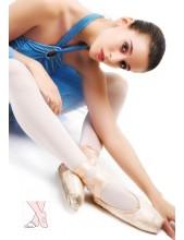 Rajstopy baletowe dla Kobiet z otworem na stopie
